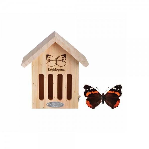 WA39 Schmetterlingshaus mit Silhouette